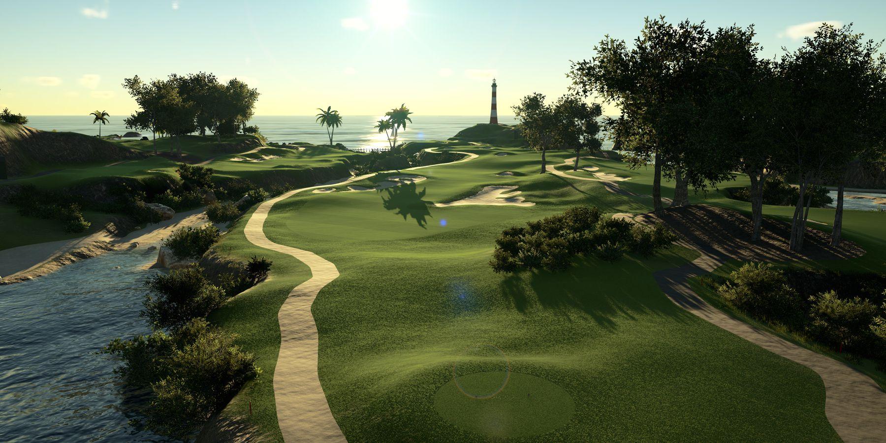 Đồ họa cực đẹp của The Golf Club