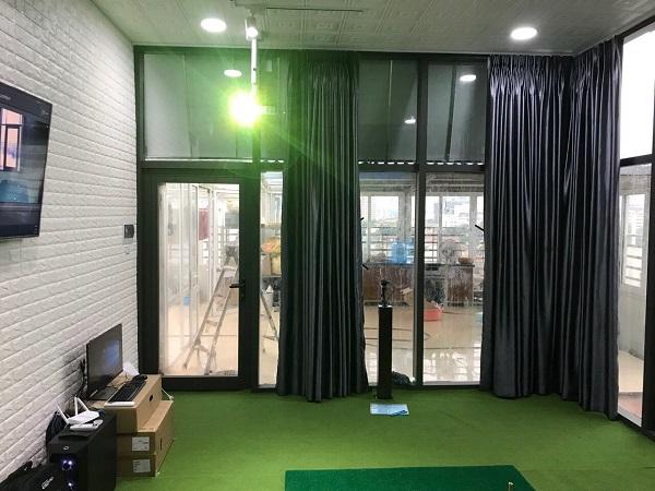 GoflTech thi công và lắp đặt phòng golf 3D tại Phố Hàng Bài, Hà Nội