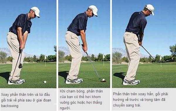 Kỹ thuật chipping Golf bổng, thấp lăn, trung bình cụ thể nhất