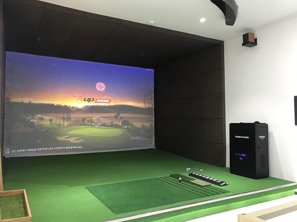 Hoàn thiện chuỗi 5 phòng golf công nghệ Hàn tại Bắc Ninh