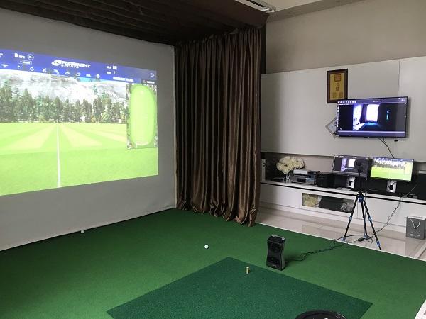 Các thiết bị golf 3D được gắn tượng để tối ưu diện tích cho người chơi