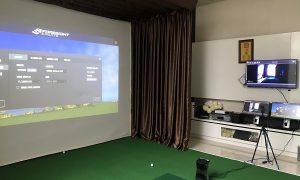 Khai trương phòng golf 3D tại nhà cho anh Q VinHome
