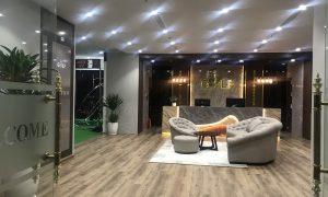 Sảnh phòng golf 3D của GolfTech - Sang trọng, hiện đại
