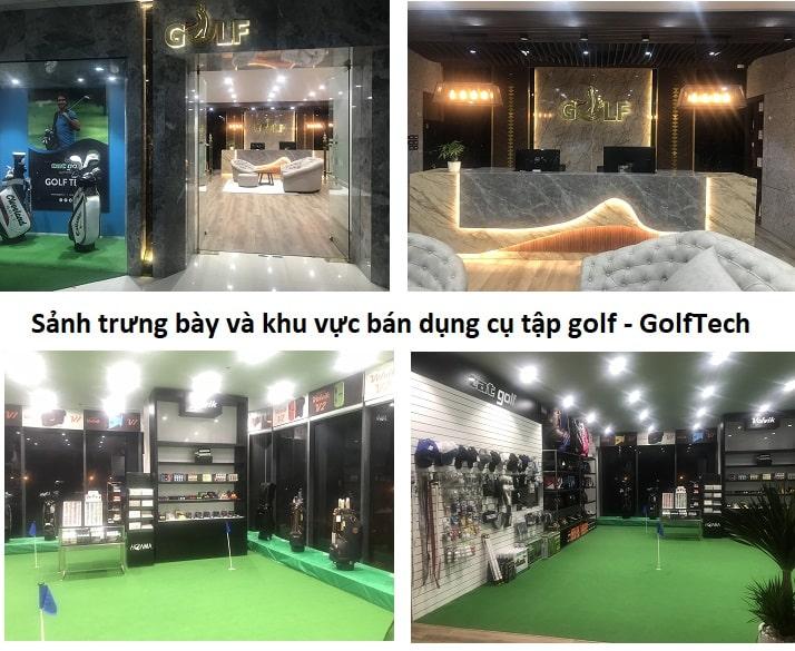 Golftech cung cấp các dụng cụ chơi golf cao cấp chính hãng