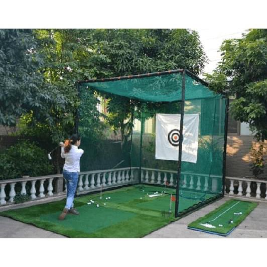 Có thể lắp đặt bộ tập golf trong nhà trên cả các tầng thượng
