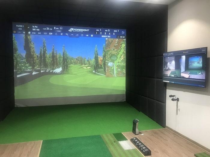 Dịch vụ chơi golf 3D theo giờ có giáo viên hướng dẫn trực tiếp 1:1