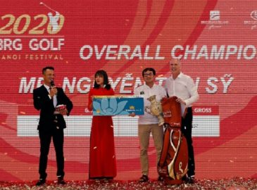 Golfer Nguyễn Tiến Sỹ đã giành giải Gross Champion 2020