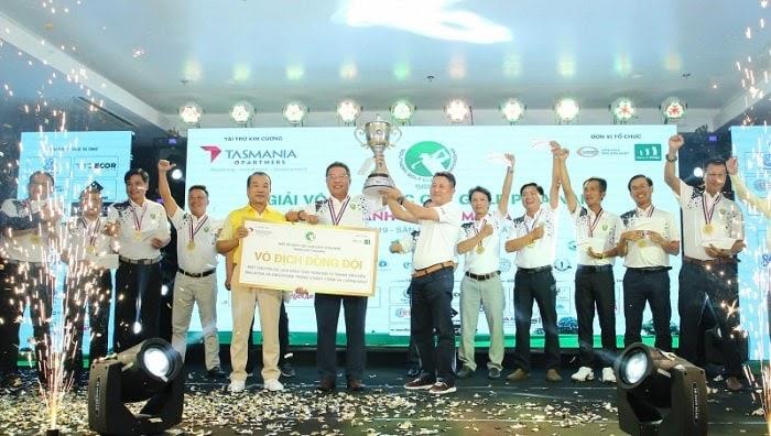 CLB Golf Vũ - Võ đơn vị vô địch giải Vô địch các CLB Golf phía Nam năm trước
