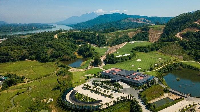Khu vực tiện ích xứng tầm tại Hilltop Valley golf club