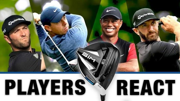 Các tay golf nổi tiếng đều đã bổ sung TaylorMade SIM vào bộ gậy của mình