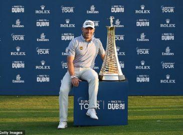 Lee Westwood đã lập kỷ lục khi vô địch giải đấu Race To Dubai