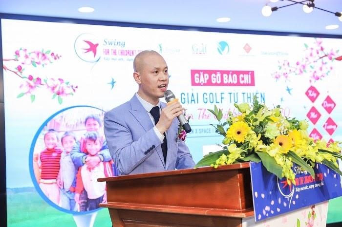 Ông Nguyễn Xuân Trung – Tổng giám đốc Cen Golf, Trưởng ban tổ chức giải phát biểu