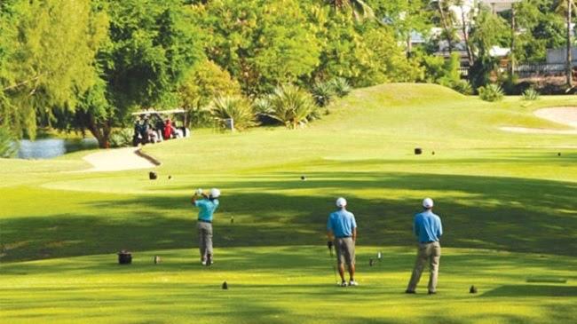 Sân golf Sacom Tuyền Lâm Golf Club có nhiều khóa học cho học viên