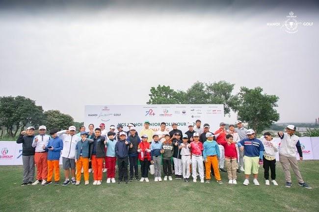 Đào tạo trẻ là chìa khoá và là con đường để phát triển sự nghiệp golf