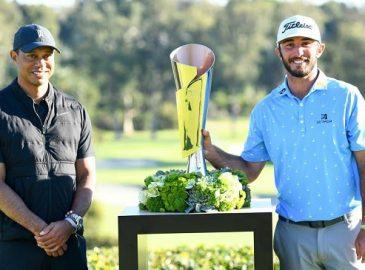 Max Homa nhận giải vô địch giải golf Genesis Invitational 2021