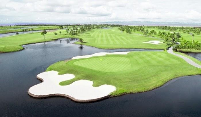 Toàn cảnh của sân golf Đồ Sơn Hải Phòng