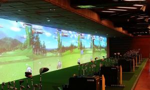 Công nghệ golf 3D Bravo Golf Simulator Hàn Quốc