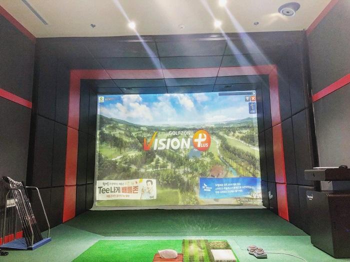 Công nghệ golf 3D T-UP Vision Hàn Quốc