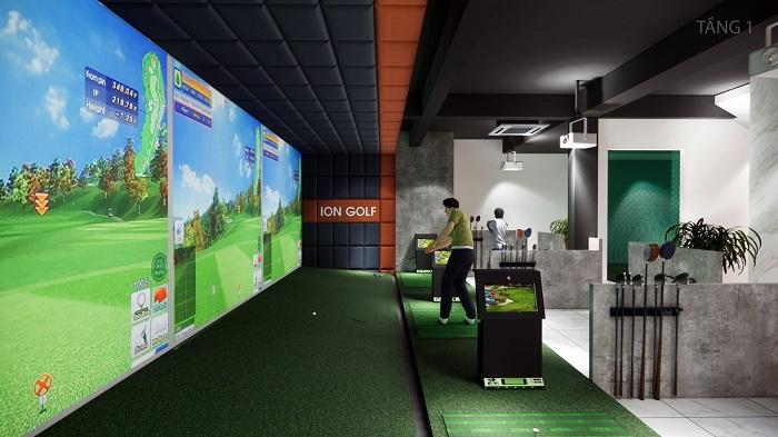 Không gian mở giúp người chơi thoải mái hơn.