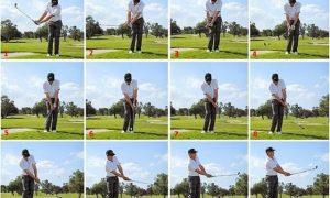 Tập chip golf là một kỹ năng quan trọng.
