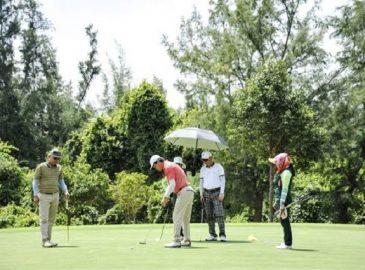 Luôn che đầu bằng mũ golf