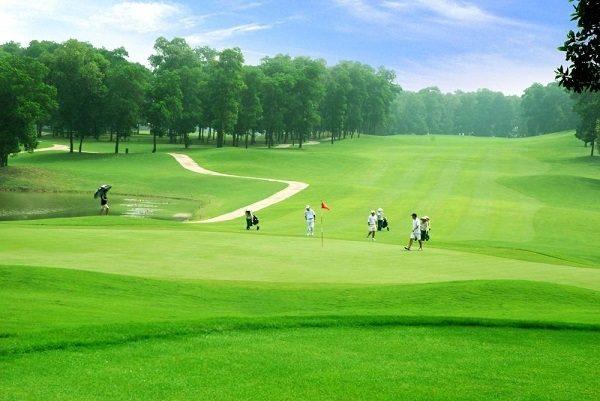 Được giao lưu và giảm stress khi chơi golf