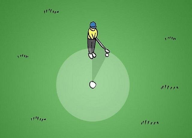 Cách gạt bóng golf hiệu quả và đúng kỹ thuật