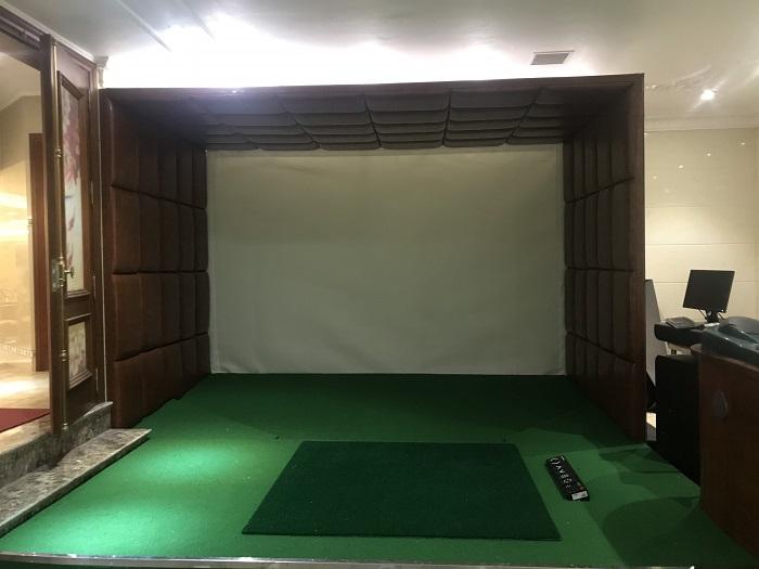 Hoàn thiện phòng golf và tập thử