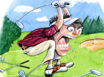 Những khó khăn về tập golf cho người mới bắt đầu