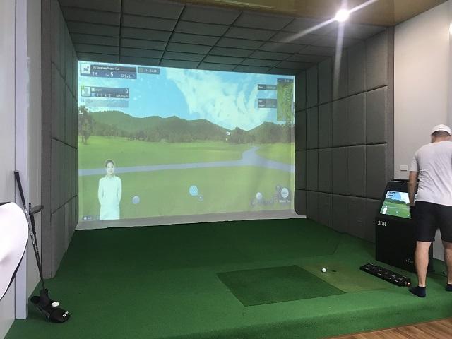 Hoàn thiện và bàn giao công trình phòng golf 3D