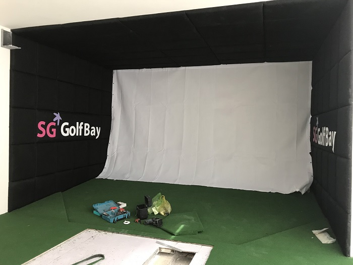 Nội thất của phòng golf 3D Hạ Long