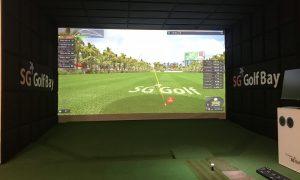 Quá trình đo đạc và thi công của phòng golf