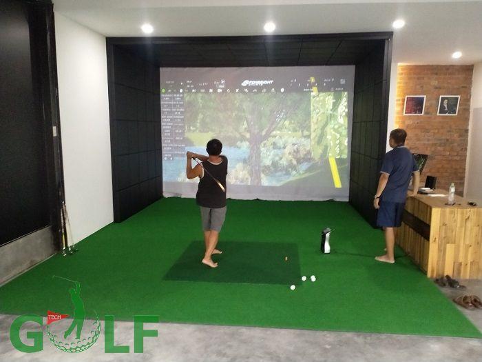 Hình ảnh về phòng golf 3D Nha Trang