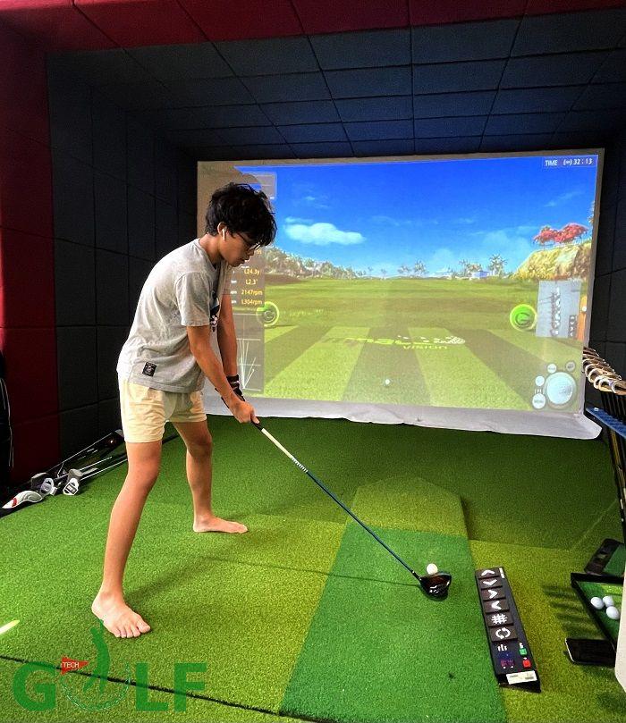 Công trình về phòng tập golf 3D Quận 7, Hồ Chí Minh