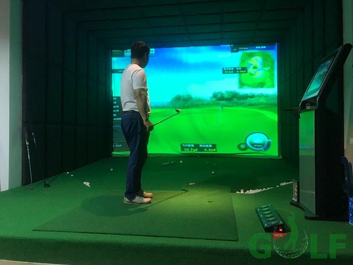 Phòng golf ốp da mang lại sự sang trọng