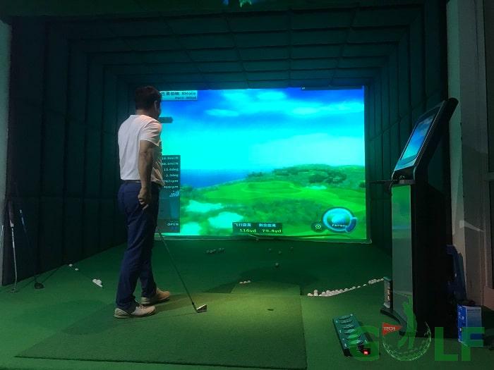 Cảm biến tốc độ cao, hệ thống giám sát 3 chiều và ghi lại hình ảnh trên màn hình