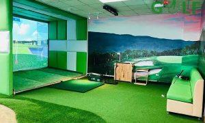 Phòng tập golf 3D sử dụng phần mềm eagle eye golf