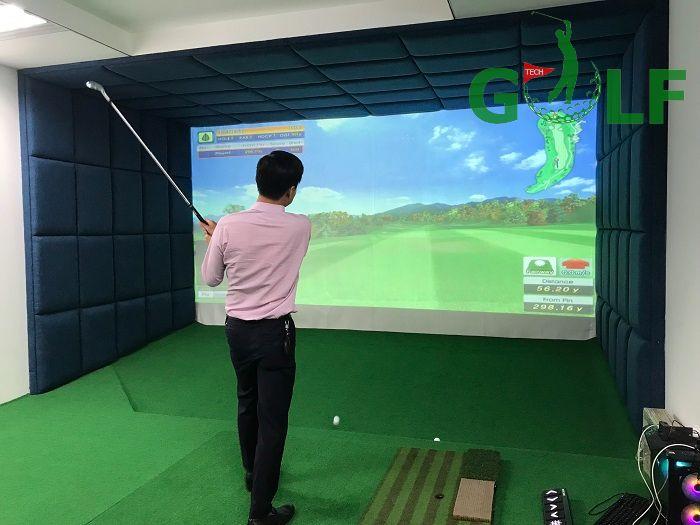 Hoàn thiện phòng tập golf 3D tại Ba Đình - Hà Nội