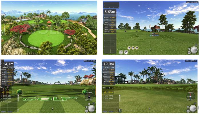 Trải nghiệm đánh golf đa dạng