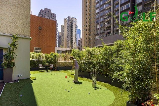 Xu hướng sở hữu sân mini golf trên sân thượng