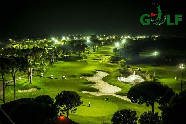 Sân golf Minh Trí với thiết kế độc đáo