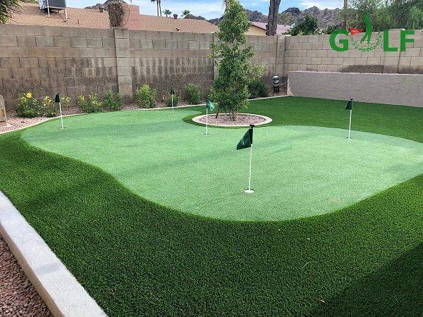GolfTech nhận thiết kế và thi công sân tập golf Putting Green