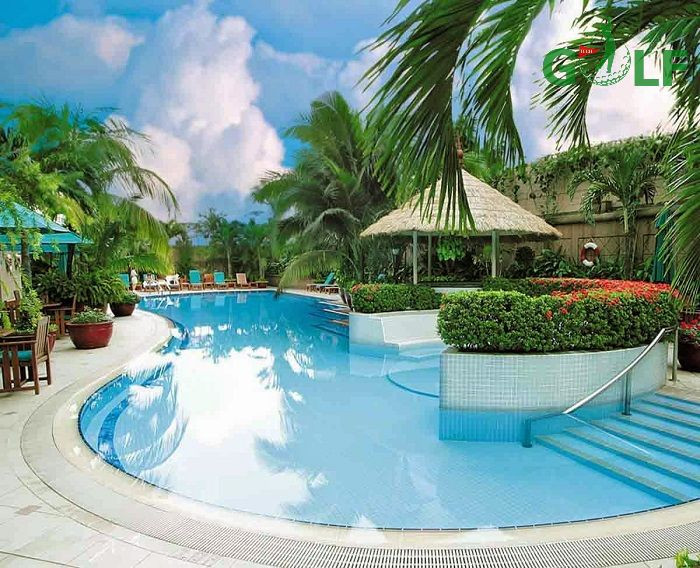 Khu nghỉ dưỡng và bể bơi tại Yên Dũng