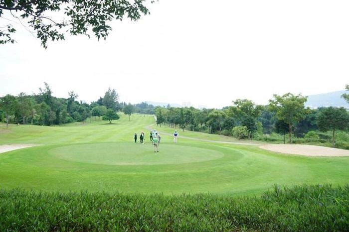Sân golf Vũng Tàu Paradise với thiết kế độc đáo